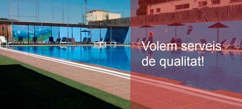 Volem que s'obri un expedient a la piscina ÒAF
