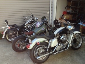 Project 1977 Harley Davidson Ironhead Sportster Xlh 1000 Oden Pictures