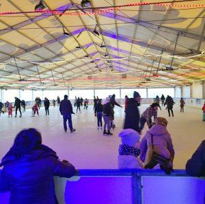 Eishalle in Slubice Polen