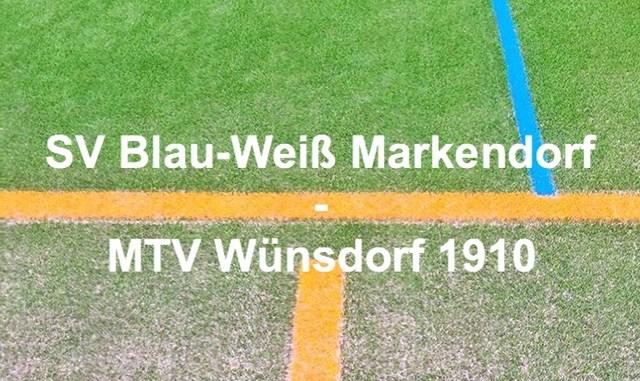Blau-Weiss Markendorf MTV Wünsdorf 1910
