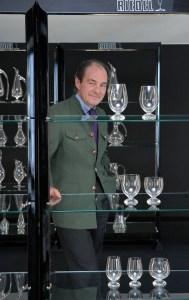 Георг Йозеф Ридель — владелец всемирно известной компании Riedel, производитель винного стекла в десятом поколении