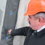 Евгений Владимирович Клименко на стройплощадке «Гагарин Плаза 1»