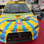 We love Odessa —Vitaliy Pushkar & Ivan Mishin at Cyprus Rally