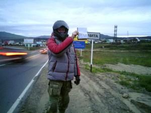 Теодор Резвой в Чите перед отправлением в Улан-Удэ, а затем —в Улан-Батор