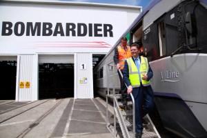 Bombardier в Украине будет производить локомотивы