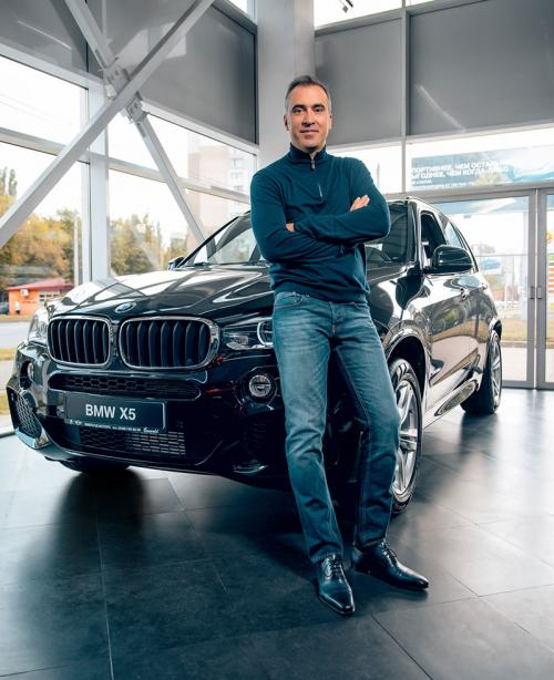 Вячеслав Мурманов, владелец Эмералд Моторс, официального дилера BMW и MINI в Одессе