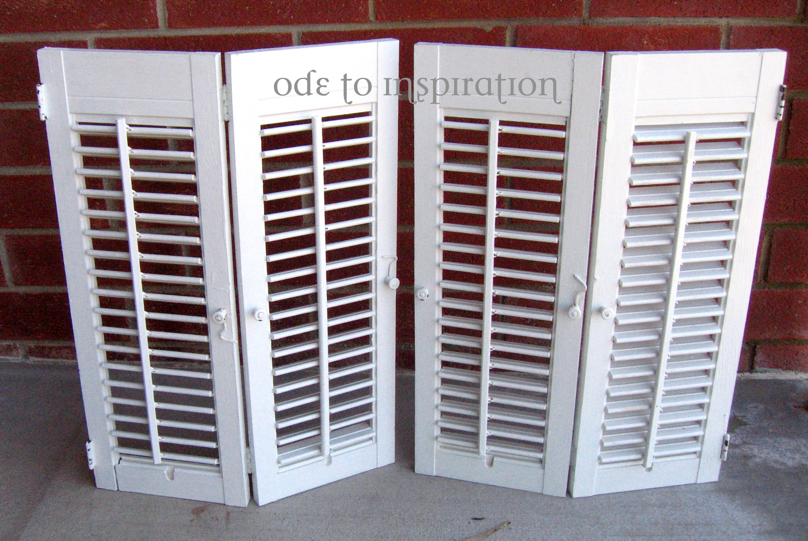 Build Interior Wood Shutters Plans Diy Pdf Woodworking Plans