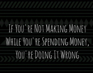 not making money
