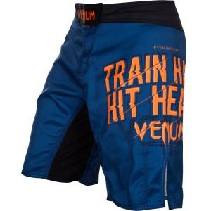 Venum Train Hard Hit Heavy Fightshort Blue