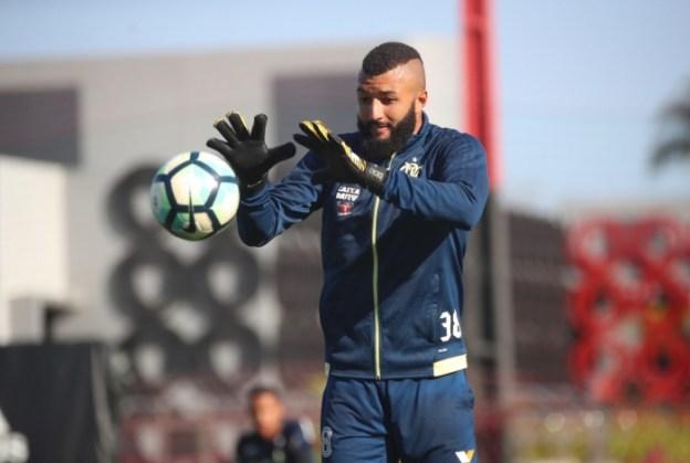 Alex Muralha nos tempos de Flamengo