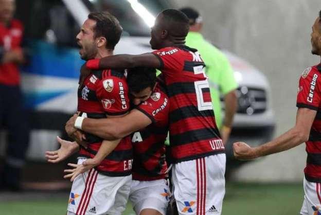 Rio, 16/05/2018. Partida entre Flamengo x Emelec no Estádio do Maracanã, válida pela 5ª Rodada da Fase de Grupos da Taça Libertadores. Foto - Gilvan de Souza / Flamengo