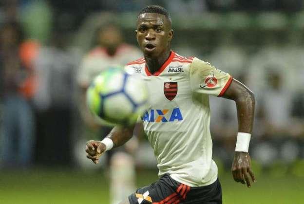 Vinicius Júnior pode ter se despedido do Flamengo
