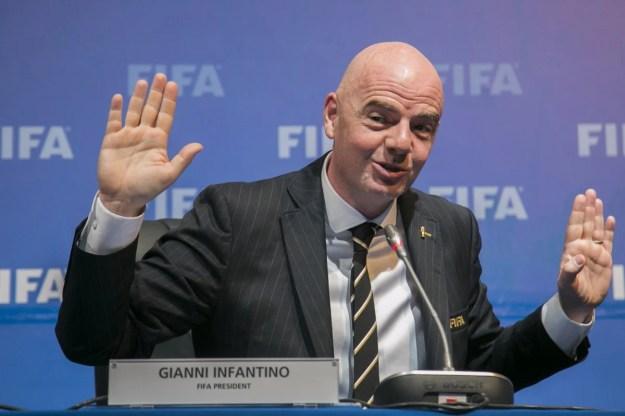 Infantino: presidente da Fifa