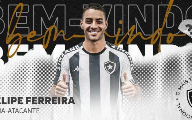 Felipe Ferreira é a nona contratação do Botafogo para 2021