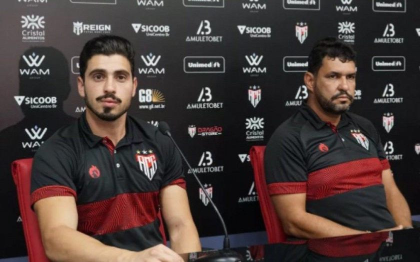 Lucas Ricci and Avimar Teodoro are the doctors at Atlético-GO