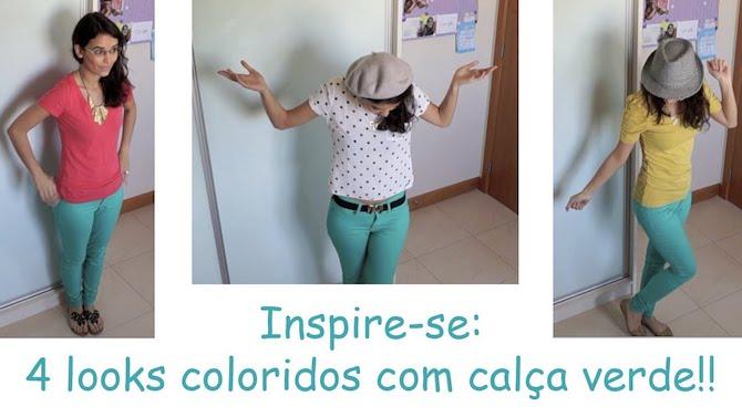 Calça verde | 4 looks para se inspirar