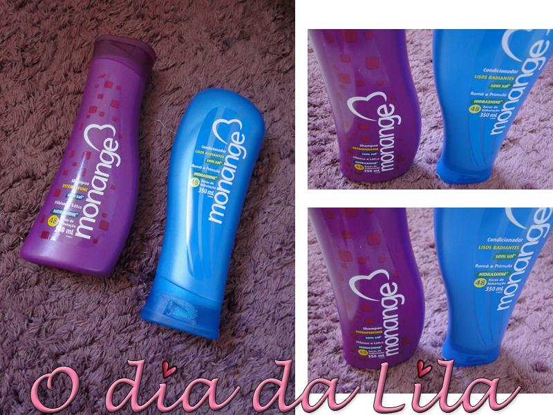 Shampoo e Condicionador Monange