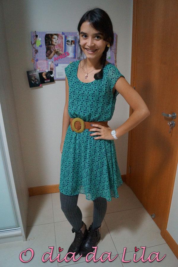 #lookdalila vestido acinturado