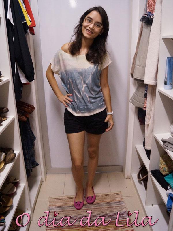 #lookdalila short preto4