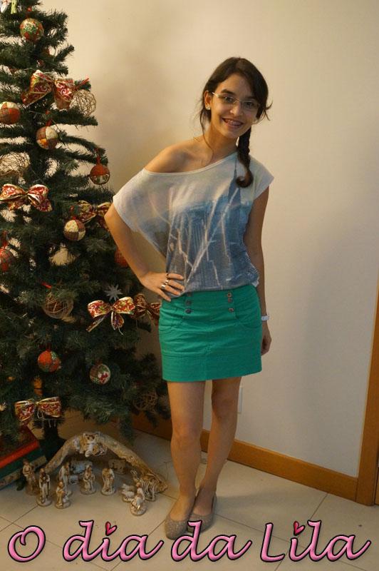 #lookdalila saia verde4