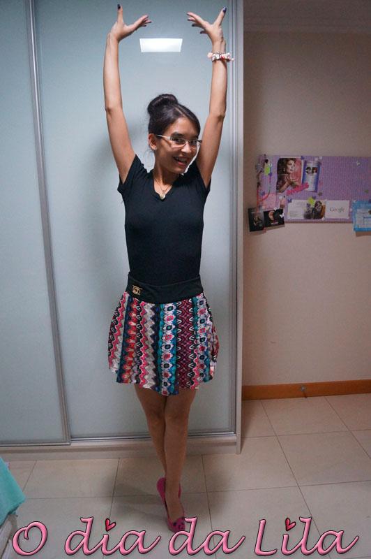 #lookdalila short-saia estampada2