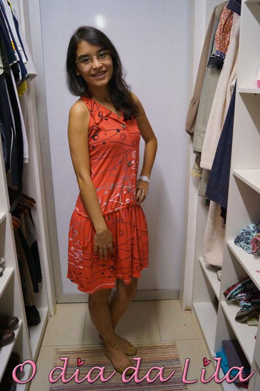 vestido estampado #lookdalila6