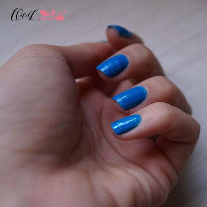 esmalte azul piscina