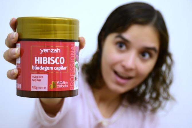 Hibisco | Máscara Capilar | SPA do Cabelo Yenzah - O dia da Lila