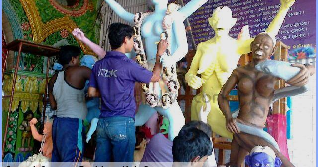 kali-puja-cuttack-preparations