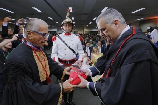Alfredo Gaspar de Mendonça Neto, reconduzido à chefia do Ministério Público Estadual de Alagoas (Foto: Márcio Ferreira)
