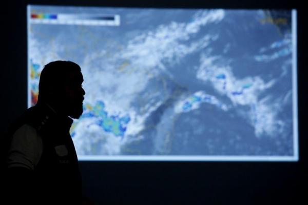 Chuvas decorrem da formação de um Vórtice Ciclônico de Altos Níveis no Oceano Atlântico, próximo à costa de Alagoas (Felipe Brasil)