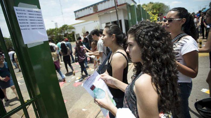 Dos 293 candidatos pobres com excelente resultado, mais da metade (154) estudou em escolas da rede pública do Ceará (Foto:  Tomaz Silva/ Agência Brasil)
