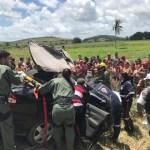 Samu é acionado após acidente em São Luis do Quitunde