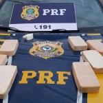 PRF apreende 10 kg de pasta-base de cocaína na BR – 101