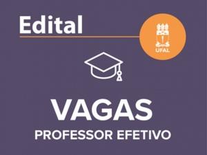 Ufal prorroga prazo de inscrição para concurso de professor efetivo