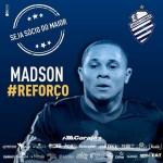Madson é anunciado como novo reforço do CSA