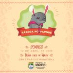 Parque Municipal realiza trilha de Páscoa no próximo domingo