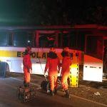 Acidente com ônibus escolar deixa três mortos em Campo Alegre