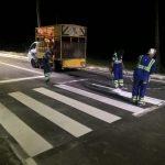 Rua em Riacho Doce recebe nova sinalização horizontal
