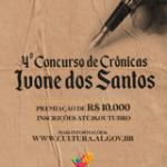 Secult lança IV Concurso de Crônicas Ivone dos Santos