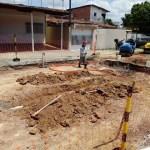 Pinheiro tem fornecimento de água suspenso para troca de tubulação rompida