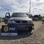 PRF prende três condutores e recupera veículo na BR 101