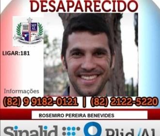 Homem com problemas psicológicos desaparece em Maceió