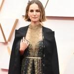 Oscar 2020: Natalie Portman borda em vestido nomes de diretoras boicotadas pela premiação