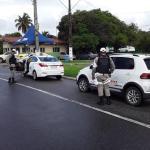 BPRv flagra seis condutores descumprindo medidas de prevenção