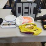 Homem é preso com um quilo de droga em seu apartamento na Serraria