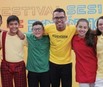 Equipes Sesi/Senai ficam entre melhores do maior festival de robótica do Brasil