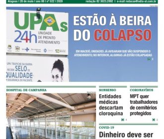 ESTÃO À BEIRA DO COLAPSO