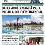 CAIXA ABRE AMANHÃ PARA PAGAR AUXÍLIO EMERGENCIAL