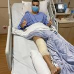 """""""Ruptura do ligamento pode comprometer outras partes do joelho"""", diz especialista sobre lesão de Longuine"""
